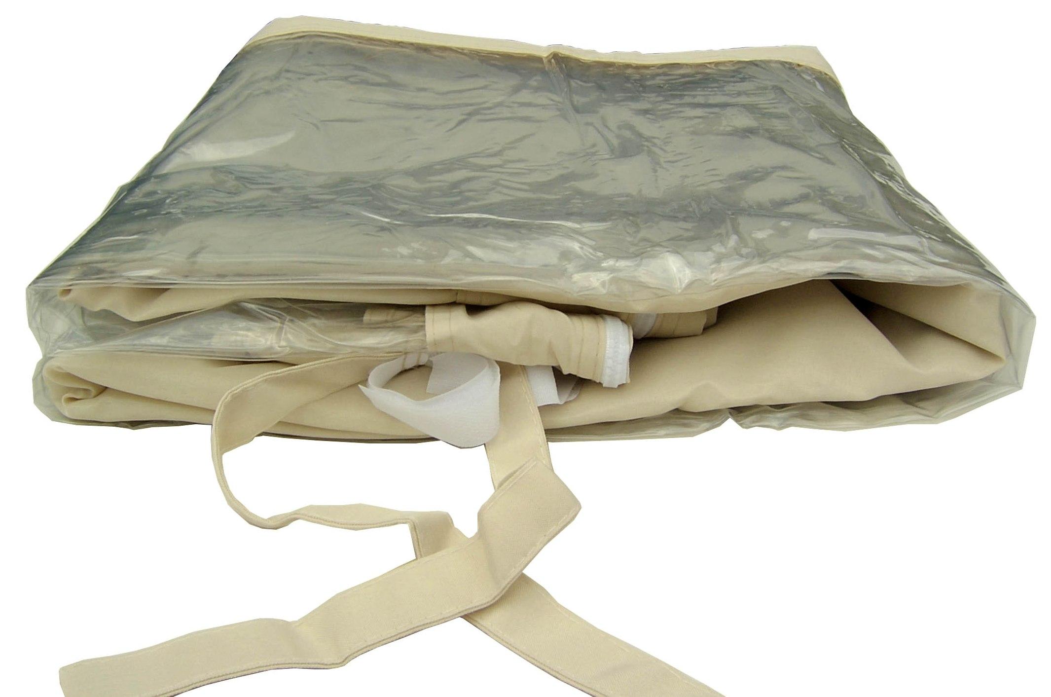 2 seitenteile f r pavillon 3x3 seitenw nde beige sand mit. Black Bedroom Furniture Sets. Home Design Ideas