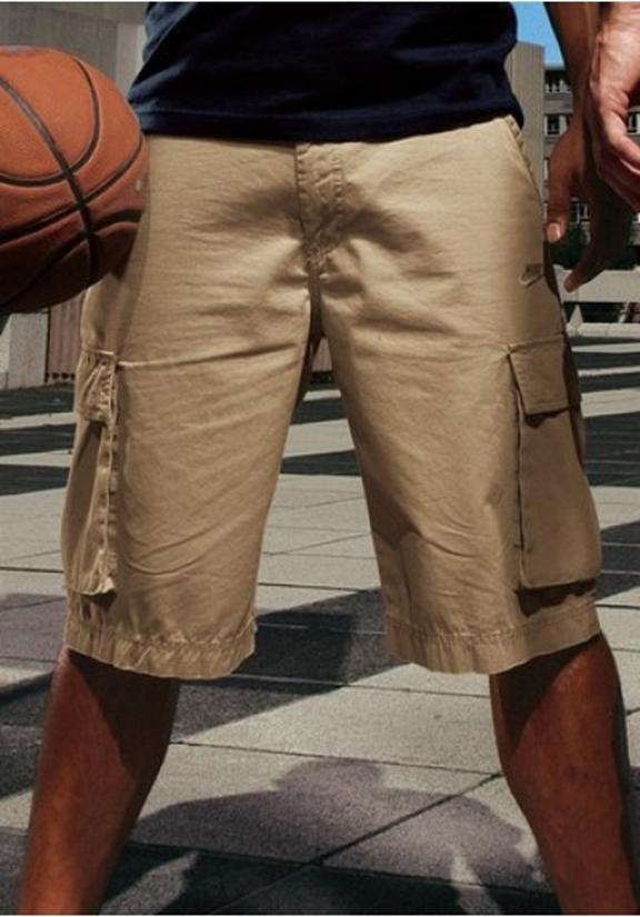 nike bermuda cargo canvas herren shorts herrenshorts kurze. Black Bedroom Furniture Sets. Home Design Ideas