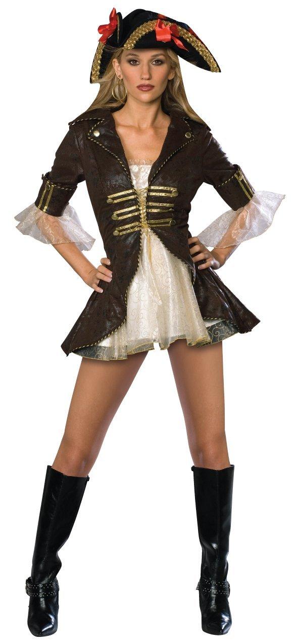 rubies damen kost m fasching karneval pirat buccaneer. Black Bedroom Furniture Sets. Home Design Ideas